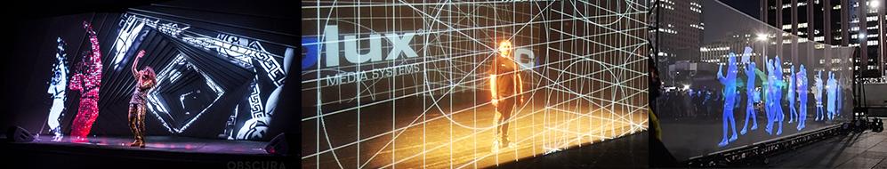 hologram na scenie