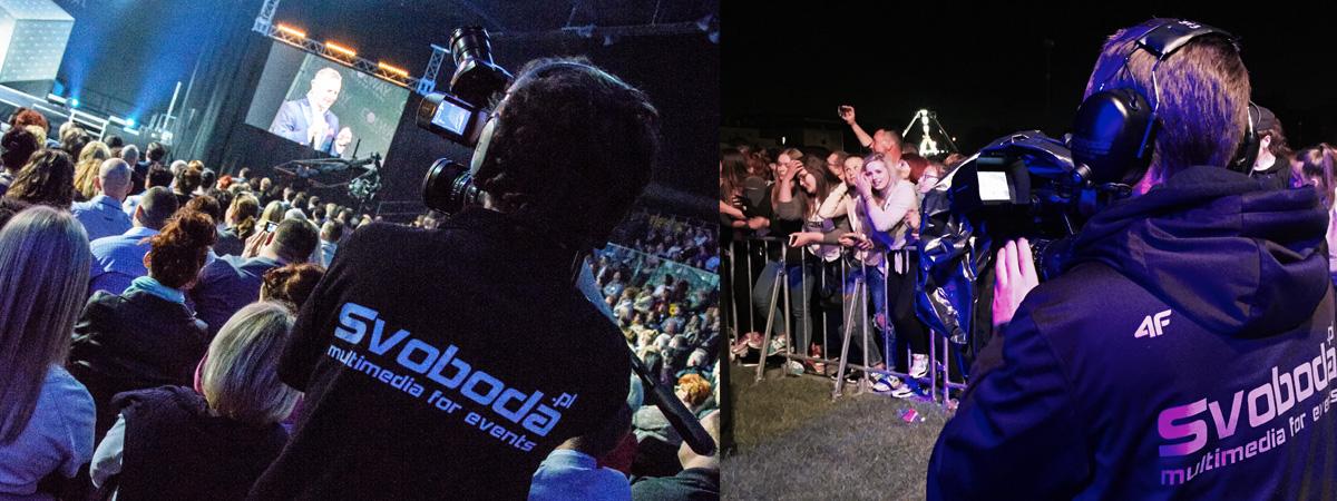 kamerzyści na eventy