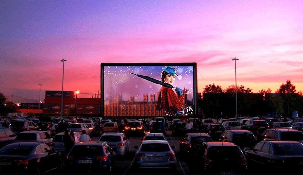 ekran LED na kino samochodowe wynajem