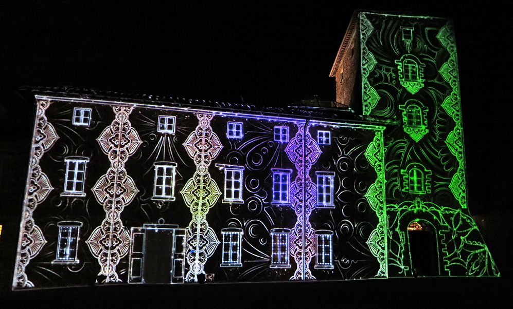 3D video mapping produkcja show