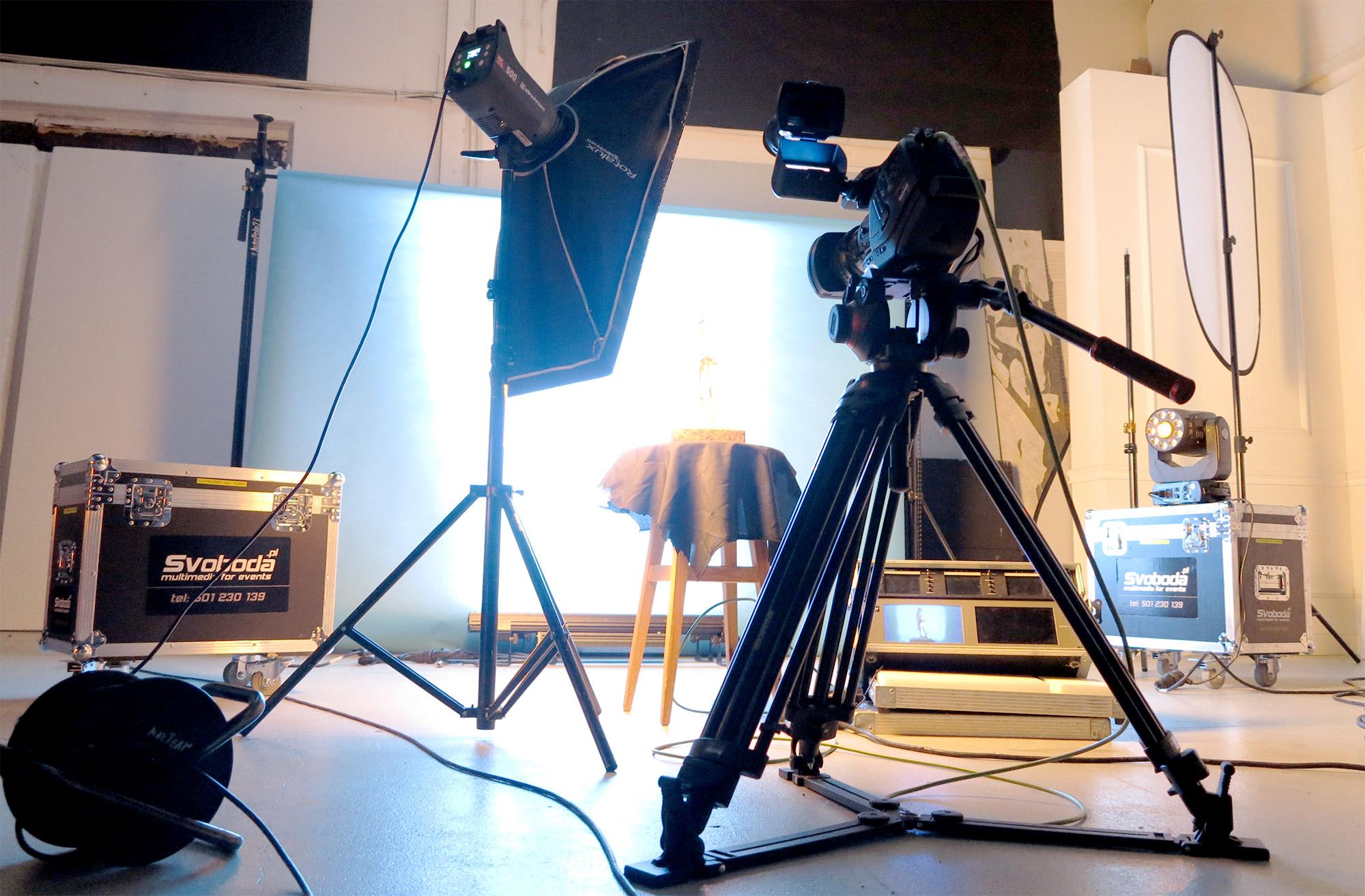 Przygotowanie animacji pod video mapping - studio SVOBODA