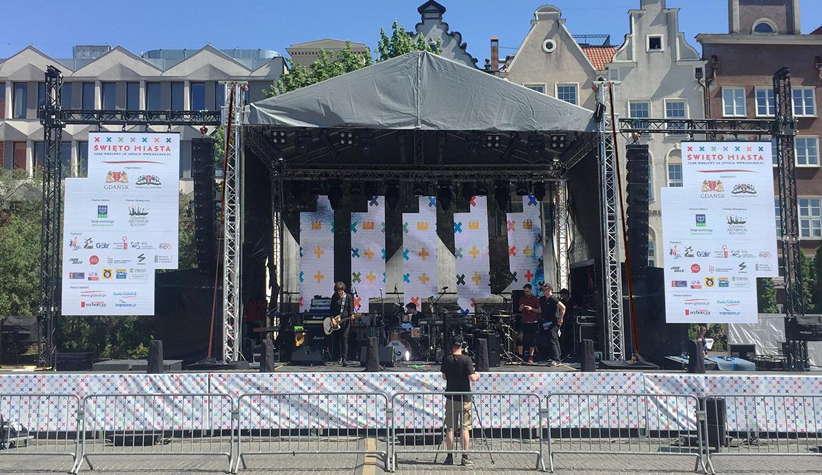 scenografia LED na scenie