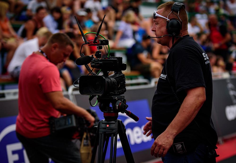 wynajem kamer na imprezy sportowe