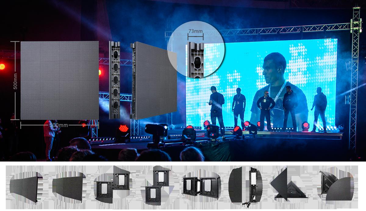 Wynajem ekranów LED na koncerty